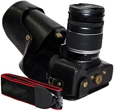 clanmou 760d - Funda de piel funda para cámara, bolsa para cámara ...