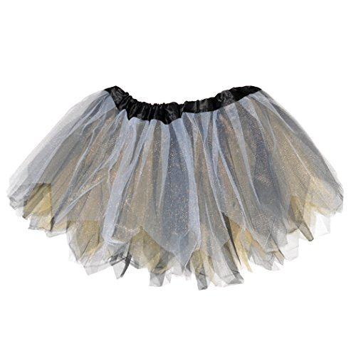 Gone For a Run Runners Premium Tutu Lightweight | One Size Fits Most | colorful Running Skirts | - Black Running Skirt