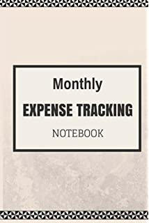 expense tracker notebook keep track or daily record about personal