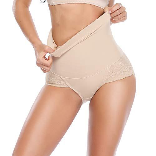 af35311697 Vaslanda Womens Seamless Butt Lifter Control Belly Panties High Waist Tummy  Control Soft Panty Shapewear