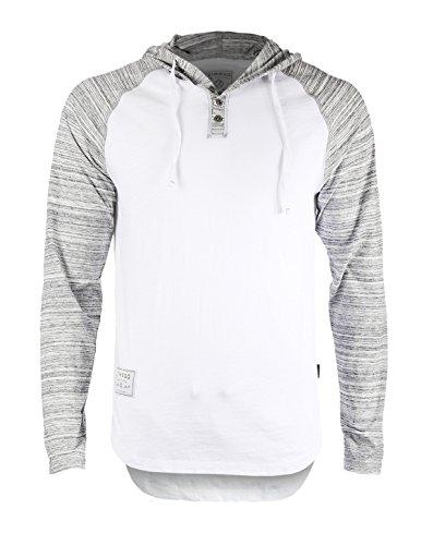 Zimego Sleeve Raglan Longline T Shirt