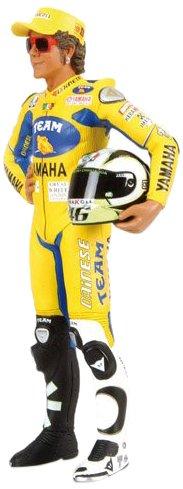 Rossi MotoGP 2006 1//12 Valentino Rossi Collection Minichamps 312060246 Modellino Pilota Standing V