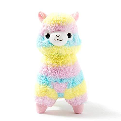 Big Colored Ribbon Alpaca Llama Toy -17.7