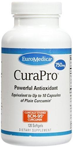 EuroMedica - CuraPro 750 mg 120 softgels [Health and Beauty] by Euromedica by Euromedica