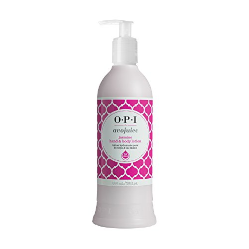 OPI Avojuice Hand Lotion, Jasmine, 20 Fl Oz - Jasmine Moisturizing Hand Cream
