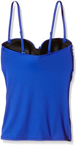 Moontide Twist Freedom Fuller Cup Twist Tankini, Bikini para Mujer Azul (Electric Blue)