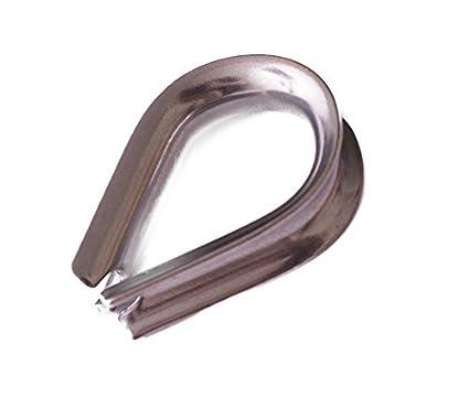 Bulk Hardware bh04996 dedal cuerda de alambre, acero ...