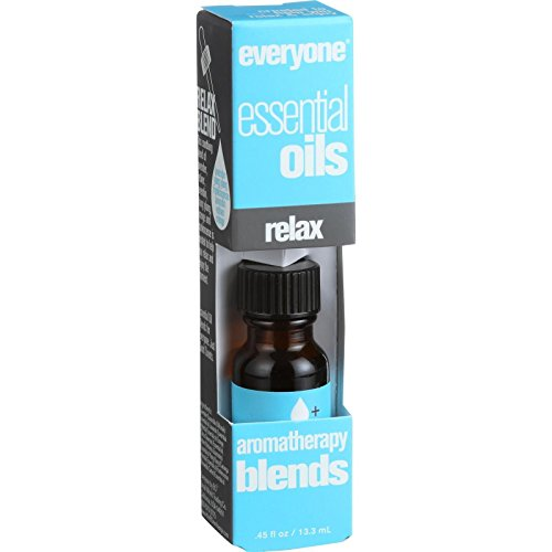 EO Products Everyone Aromatherapy Blends - Essential Oil - Relax - .5 oz (Pack of 2) ()