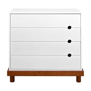 Amazon.com: Bebé Mod – Olivia 4-Drawer Dresser, ámbar y WHI ...
