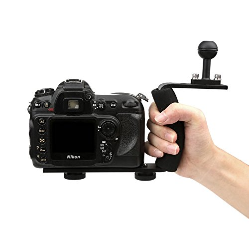 AXION Single Arm Aluminium Diving Handle w/ Ball Adapter for Underwater Photo & Video Lighting by Axion (Image #3)
