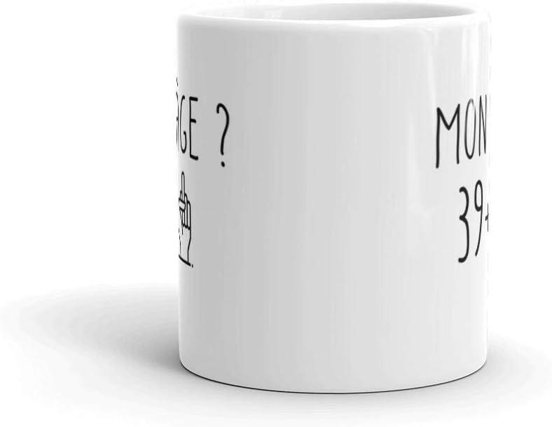Taza de cumplea/ños para hombre o mujer dise/ño de ceramike