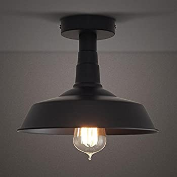 Amazon.com: Design House 519876 Kimball 1 Light Semi Flush