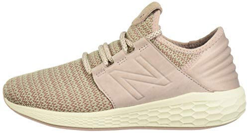 New Balance Women's Cruz V2 Fresh Foam Running Shoe Faded Birch/au Lait/Alabaster 5 B US by New Balance (Image #5)