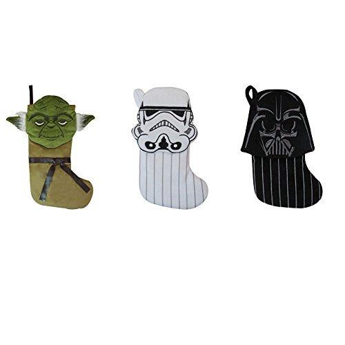 Star Wars 8 Christmas Darth Vader, Yoda and Stormtrooper Mini Stockings