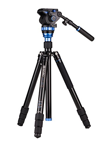 Benro Aero 7 Aluminum Travel Video Tripod Kit with S7 Video Head ()