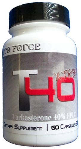 Pro Force T40Xtreme Mass Factor Muscle Builder Creatine HCl Turkesterone Beta Alanine HCI Bodybuilding Supplements Testosterone Booster