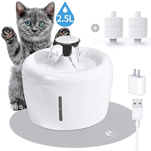 113-1166715-6354620  ELSPET Cat Water Fountain