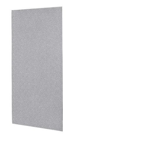Swanstone SS-3672-1-042 Solid Surface Glue-Up 1-piece Shower Wall Panel, 0.25
