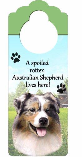 Australian Shepherd Wood Sign