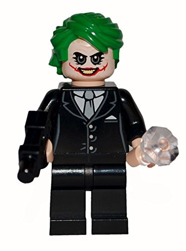 Lego Joker Dark Knight Custom. All official Lego parts. (Dark Face Knight Two)