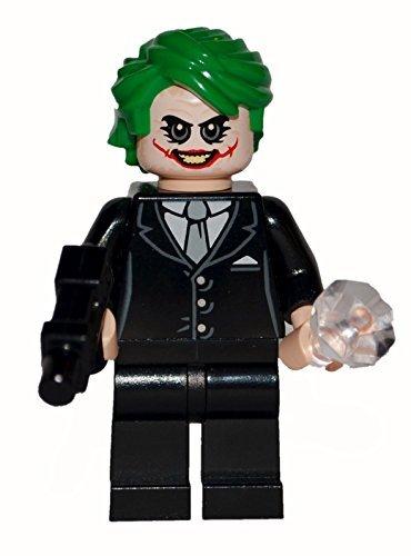 Lego Joker Dark Knight Custom. All official Lego parts. (Face Two Dark Knight)