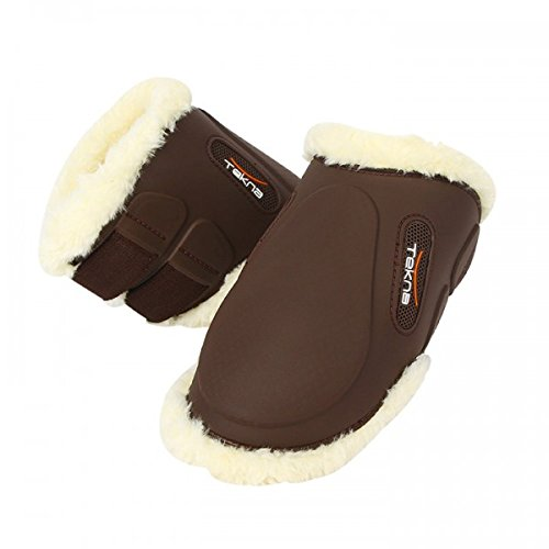ERS Tekna Synthetic Sheepskin-Lined Fetlock Boots Brown Medium