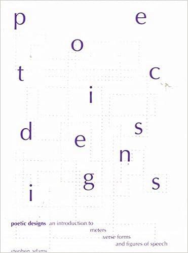 Download gratuito di libri audio con testo Poetic Designs: An
