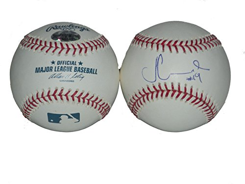 Fernando Martinez Signed MLB Baseball New York Mets