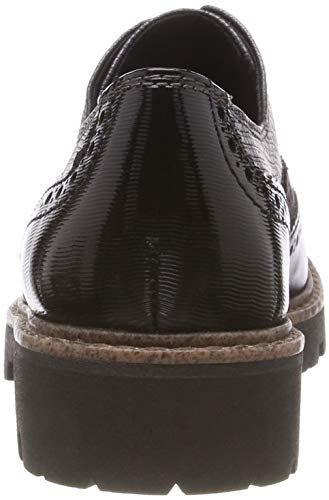 Richelieus 2 2 Femme Marco 098 Tozzi Noir 23718 Comb 098 21 Black x1w4Afq4