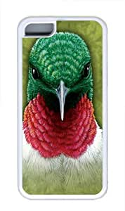 Hummingbird TPU Case Cover for iPhone 5C White