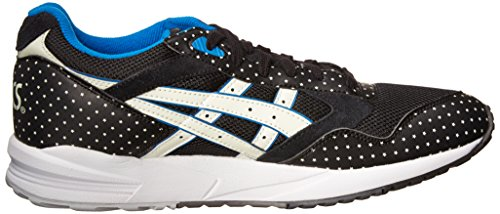 Asics Herengel Saga Fashion Sneaker Zwart / Glow In The Dark