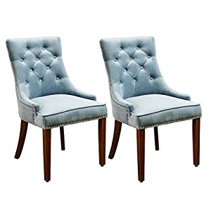 41T2XEErLQL._SS300_ Coastal Dining Accent Chairs & Beach Dining Accent Chairs