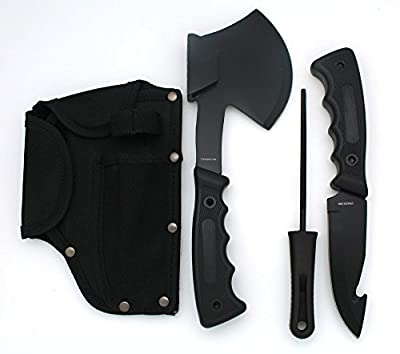 Snake Eye Tactical Heavy Duty 4PC Big Game Hunting Knife Set Camping Fishing