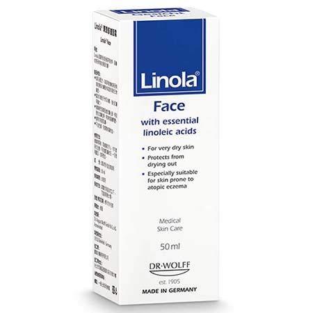 #MC LINOLA FACE 50ML-Skin Cream for Daily use.Highly moisturising, Long-Lasting Cream for Very Dry Skin - Long Lasting Moisturising Cream