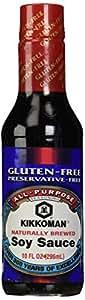 Kikkoman Gluten Free Soy Sauce, 10 oz