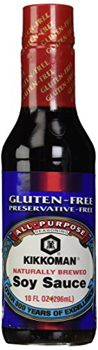 Kikkoman Gluten Free Soy Sauce, 10 ()