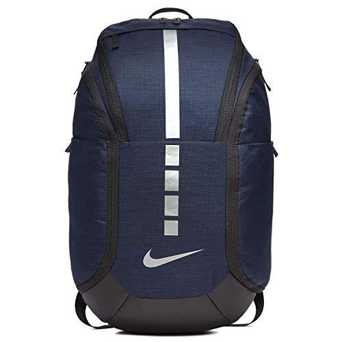 Nike Hoops Elite Pro Backpack MIDNIGHT NAVY/BLACK/MTLC COOL GREY