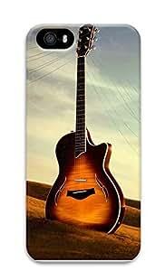 TYH - iPhone 5 5S Case Guitar Creativity 3D Custom iPhone 5 5S Case Cover phone case