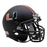 Schutt NCAA Miami Hurricanes Mini Authentic XP Casco de fútbol