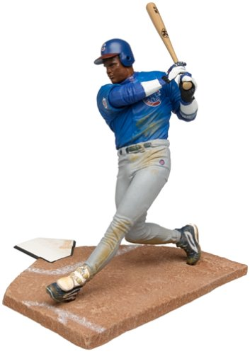 McFarlane Toys MLB Sports Picks Series 1 Action Figure Sammy Sosa (Chicago Cubs) Blue Jersey (Blue Figure Toy)