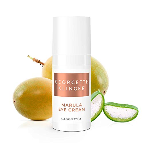 Marula Eye Cream by Georgette Klinger Hyaluronic Acid Caffeine Infused Eye Cream Helps Reduce The Appearance of Aging, Puffiness Dark Circles