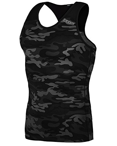 Mens+Tank+Tops Products : DRSKIN Undershirts Running Shirt Tank Tops Men's Cool Dry Compression Baselayer Sleeveless