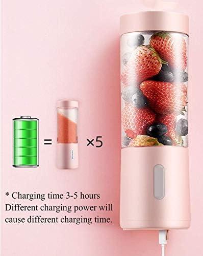 Juicer Household Portable Fruit Student slaapzaal for het opladen van elektrische Mini Juicer Cup Plantaardige Multifunctionele Juice Machine FDWFN