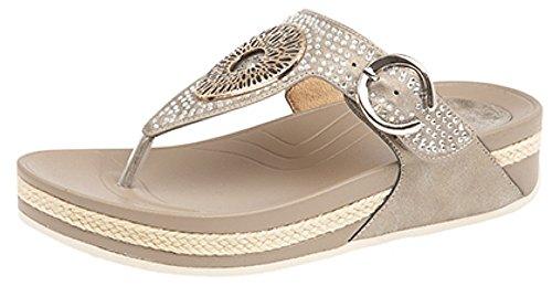 Boulevard - Sandalias de vestir de Material Sintético para mujer dorado claro