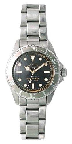 [ヴァーグウォッチカンパニー]VAGUE WATCH Co. 腕時計 GRY FAD(グレーフェイド) 自動巻き GF-L-001 メンズ B01G5C8WI8