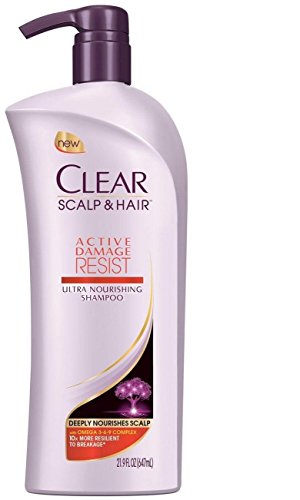 Clear Scalp and Hair - Active Damage Resist 21.9 Ounce Shampoo by CLEAR