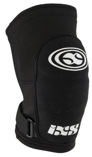 IXS Flow soft black (Size: L) leg protector by Ixs