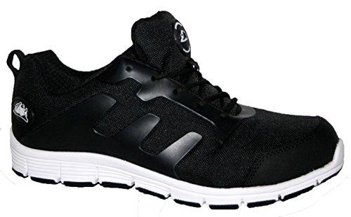 Groundwork Gr95 C, Chaussures de Sécurité Homme Blanc Cassé - Blanco - Negro y blanco