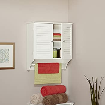RiverRidge Home Ellsworth Collection 2-Door Wall Cabinet, White