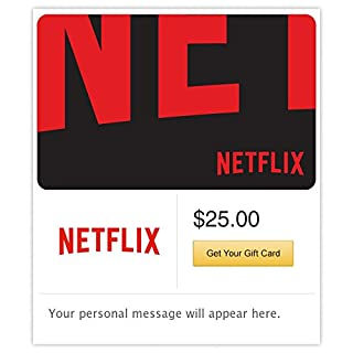 Netflix Gift Card - E-mail Delivery (B01730QPK8) | Amazon price tracker / tracking, Amazon price history charts, Amazon price watches, Amazon price drop alerts